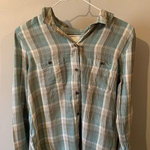 2 flannel shirts, unworn, one with tags